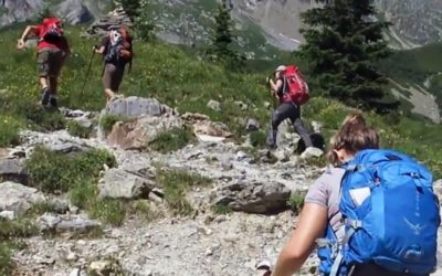 guided tour on Mont Blanc