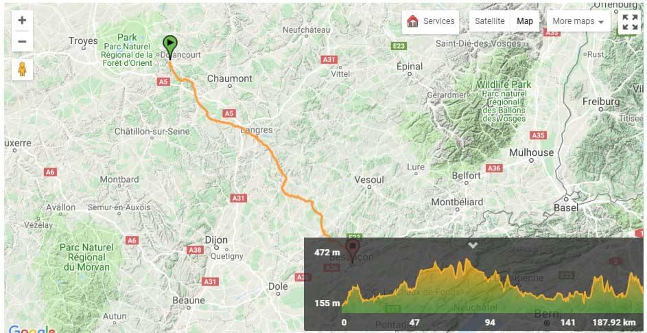 Via Francigena-6-16 Map