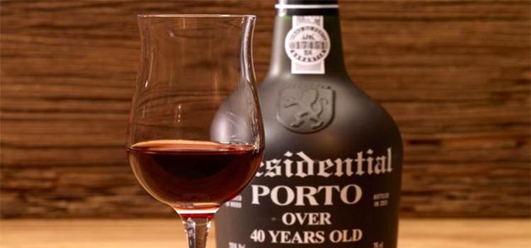 a glass of Port Wine
