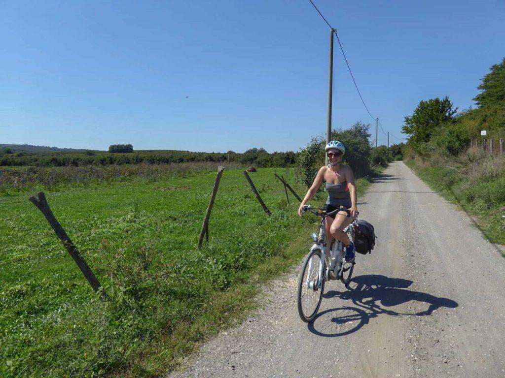 Via Francigena cycling