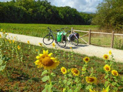 Cycling the Via Francigena