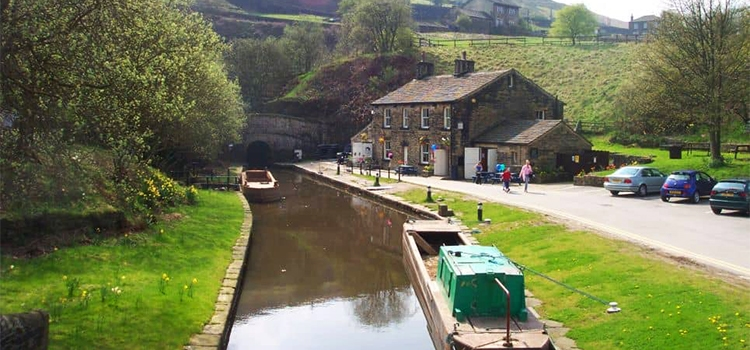 Standedge tunnel in West Yorkshire