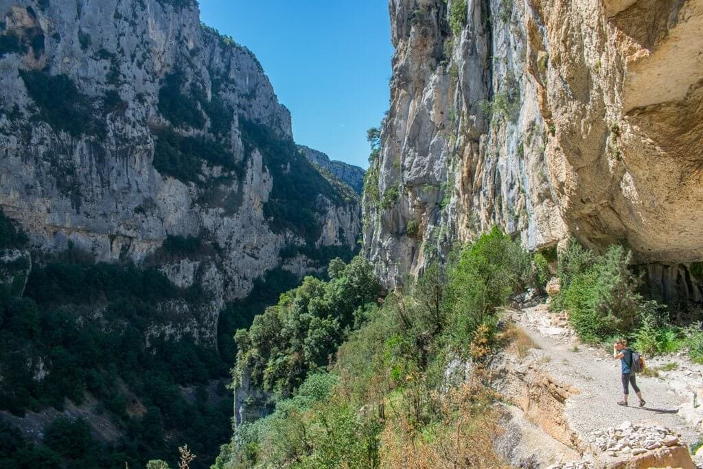 Inside the Verdon Gorge