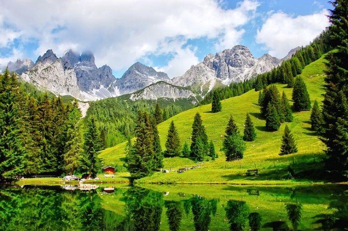 Dachstein lake