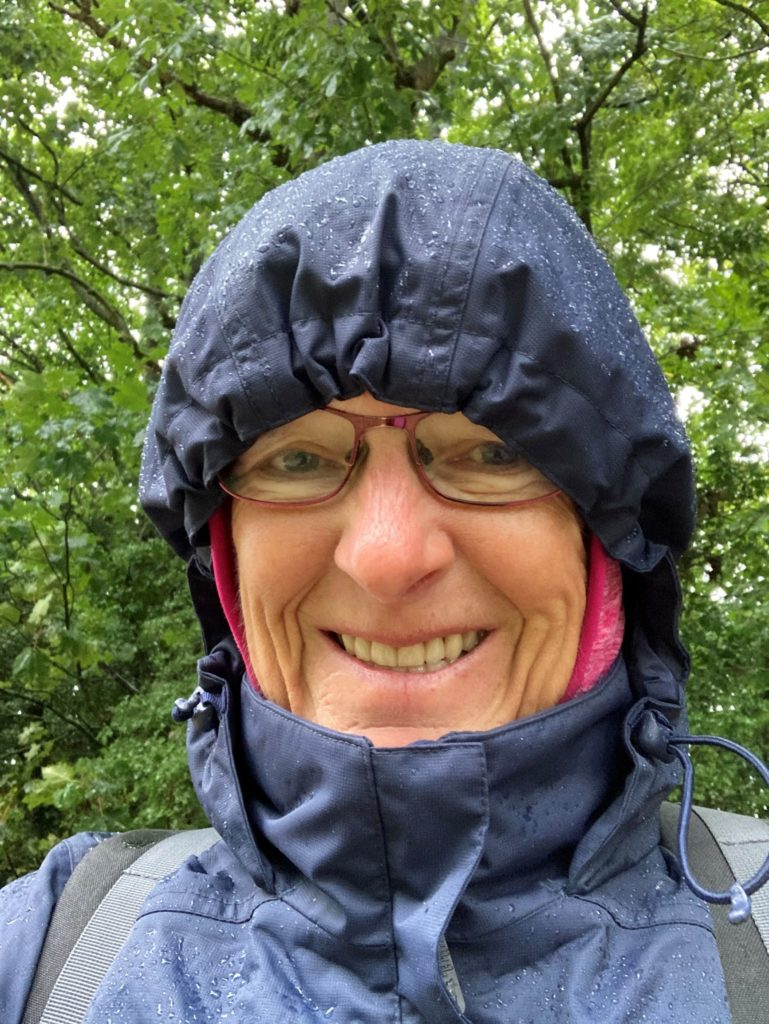 Dorothy Saul-Pooley, poet walking Cotswolds from Chipping Campden to Bath