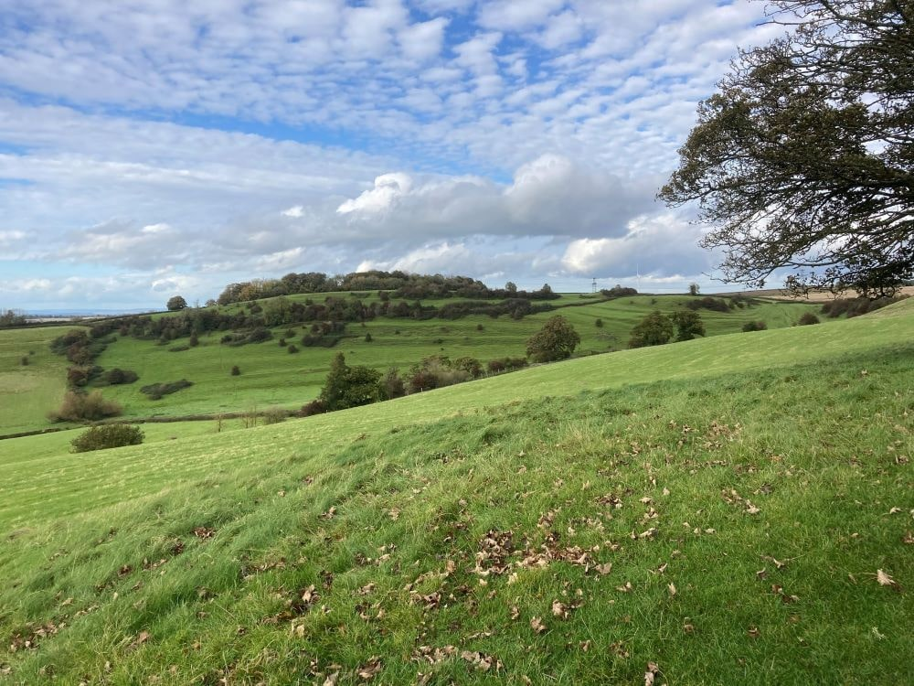 Cotswolds from Chipping Campden to Bath hills